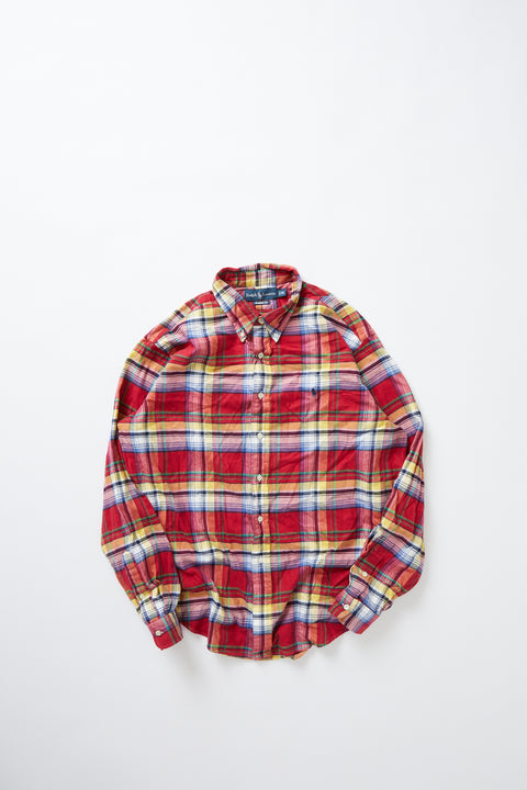 Polo Ralph Lauren flannel shirt (XL)