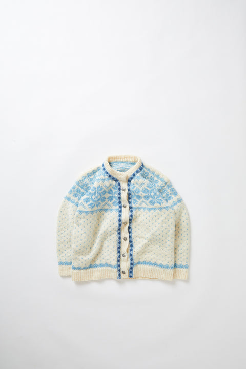 Home knit norwegian sweater (XS)