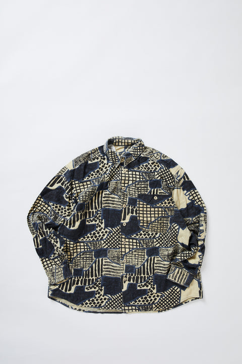 Printed Flannel Shirt (L)
