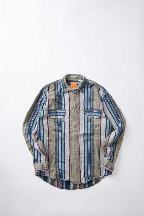 Patterned Weave Shirt (XL)