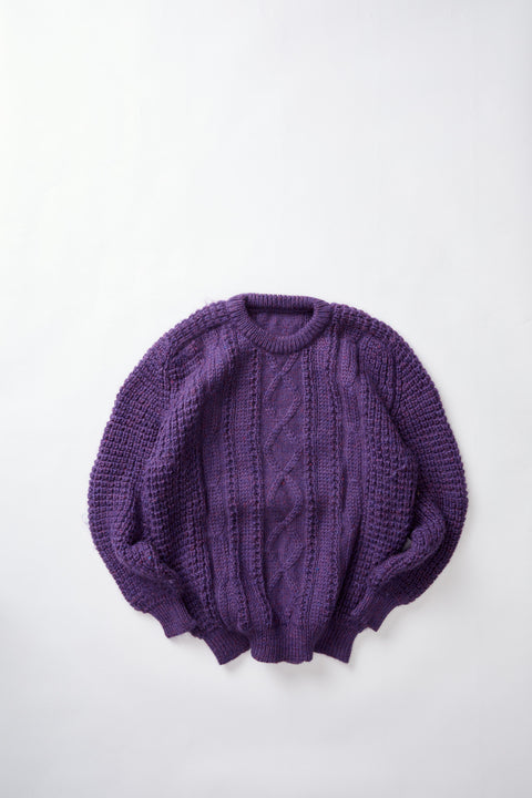Cable Knit Sweater (XL)