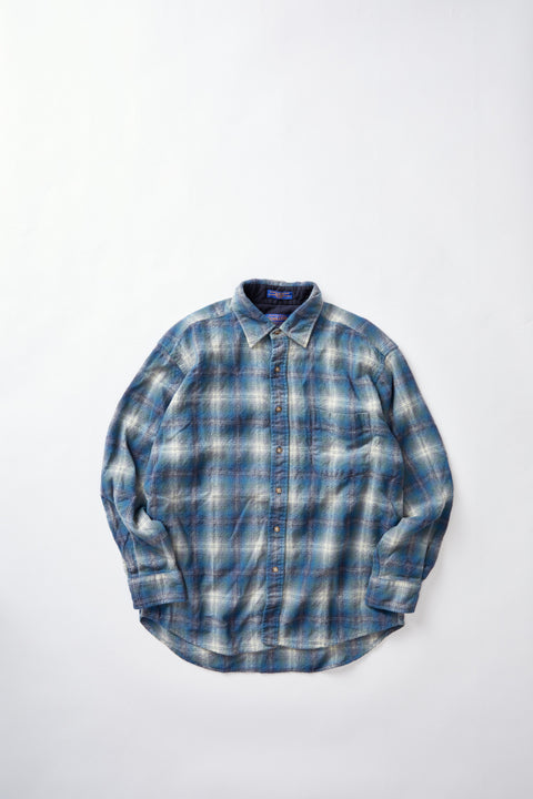 Pendleton Wool Flannel Shirt (L)