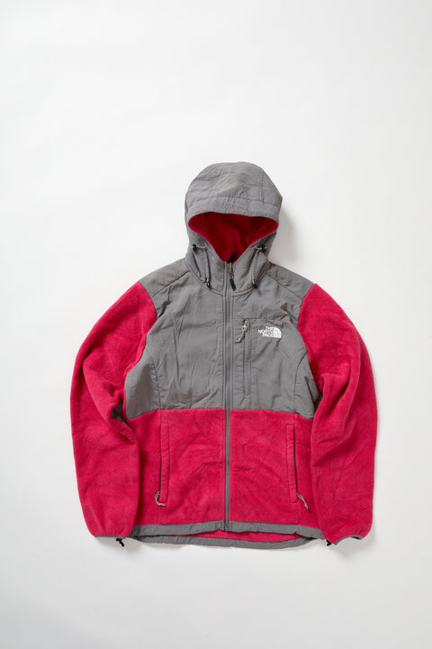 Pink North Face Fleece Jacket (M)