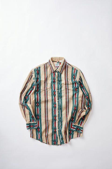 Patterned Western Shirt (M)