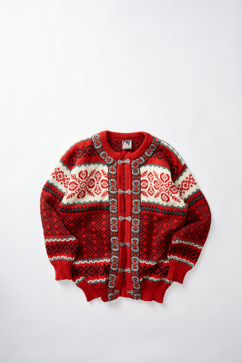 Norwegian Wool Cardigan (L)