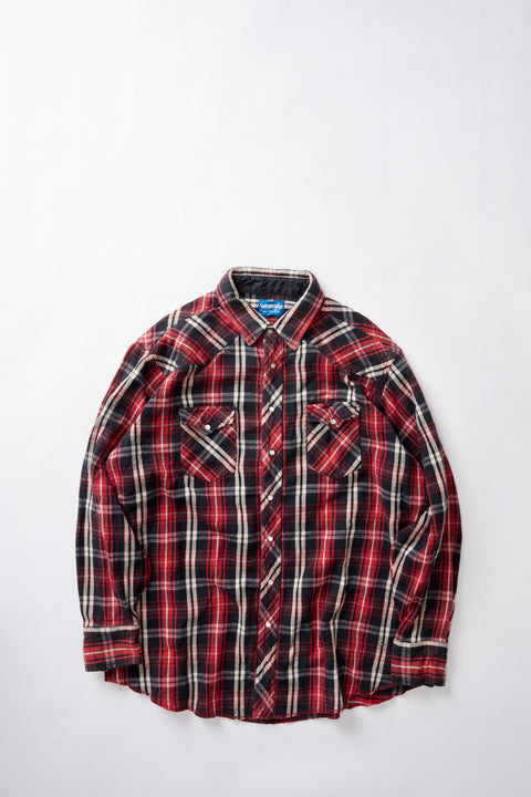 Wrangler Heavy Flannel Western Shirt (XL)