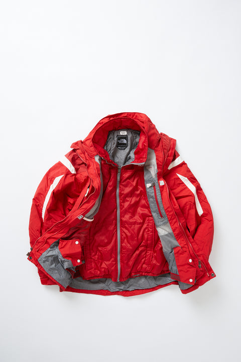 The North Face 3-in-1 insulated shell (M)
