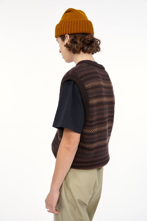Boyd Vest Brown Multi Pattern