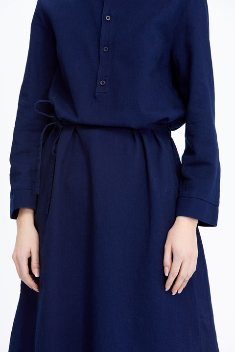 Mie Indigo Dress - Dress - Livid Women