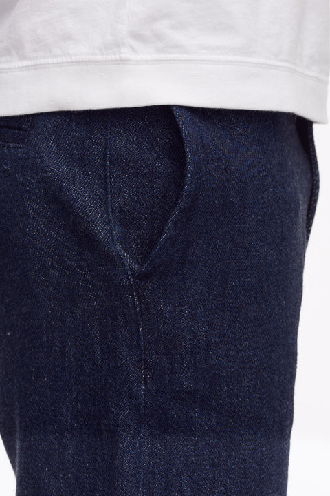 Tue Straight Shorts Japan Indigo - Shorts - Livid Jeans