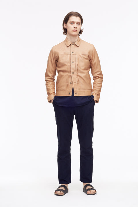 Joshua Natural leather - Jacket - Livid Jeans