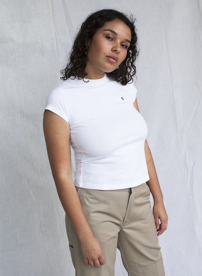 Logo Embroidered Lounge T-Shirt
