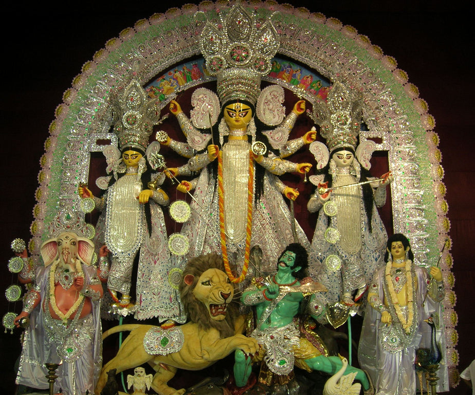 Durga Puja in the Tea Estates