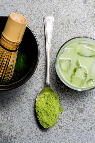 Matcha Green Tea Latte ; Health Benefits of Matcha tea