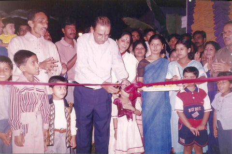 N K Puri, Goodricke, Inauguration of Durga Puja