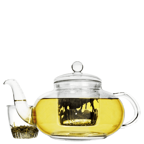 Teapot, Glass teapot, Teapot with infuser