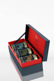 Eastern Classics Gift Tea Box front - Teacupsfull, Elegant Tea Box, Customised Tea Gifts, Top Selling Tea Brand