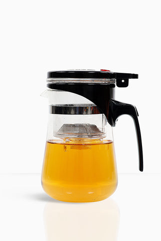 Green Tea Maker, Glass Green Tea infuser - Teacupsfull