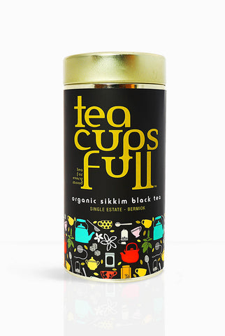 Sikkim Organic Black Tea - Savor the taste of young tea from Sikkims only privately owned tea estate