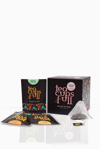 Teacupsfull - Assorted Black Tea, Best Darjeeling Tea; Darjeeling Tea Bags; Best Darjeeling Tea Brand