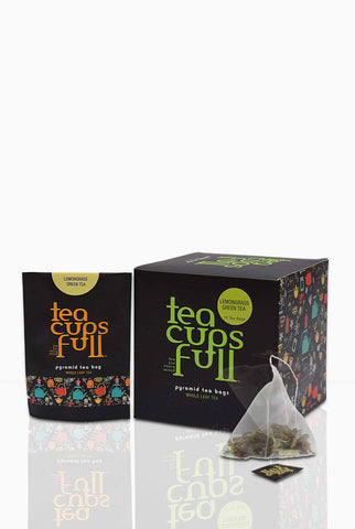 Buy Lemongrass Green Tea Bags Online for Weight Loss