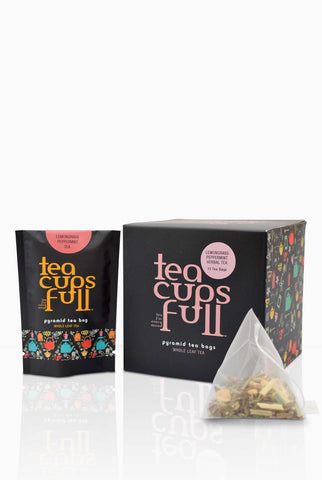 Tea bags - Herbal Tea ; Herbal Tea - Tea Bags; Lemongrass peppermint tea bags; Detox herbal tea; herbal tea for weight loss