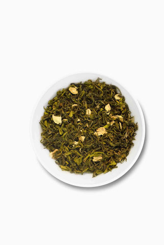 Ginger Green Tea; Loaded with Antioxidants; best green tea brand in India