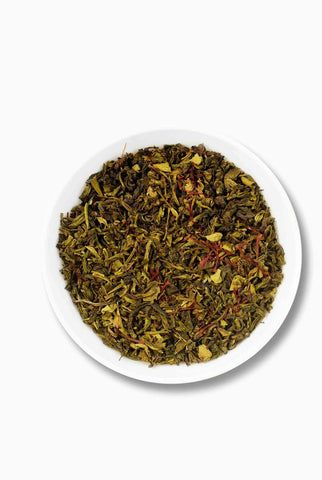 Saffron Green Tea; Best Gourmet Tea;  Green Tea Taste, Best green tea taste,
