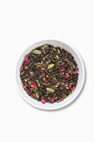 Exotic flavour green tea; Paan Rose, Peppermint, cardamom, rose, mulethi, cloves, sauf