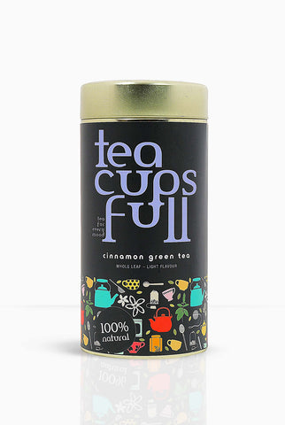 Cinnamon Green Tea - Teacupsfull; best green tea brand; best green tea brand in India, best green tea brand, tea brands, Tea brands India, Best green Tea for weight loss