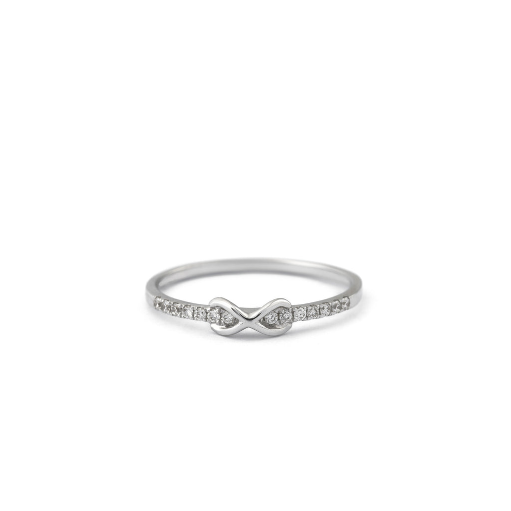 Infinity Diamond Ring  Elias Allan Jewelry