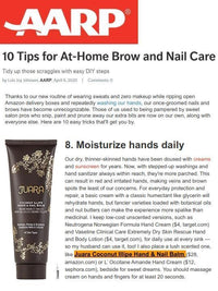 AARP: 10 Tips for At-Home Brow and Nail Care