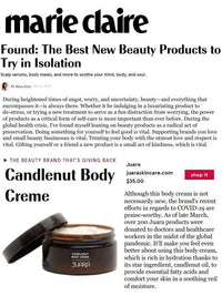 MARIE CLAIRE: Found: The Best New Beauty Products to Try in Isolation