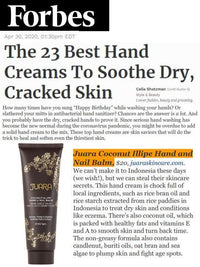 FORBES: The 23 Best Hand Creams To Soothe Dry, Cracked Skin
