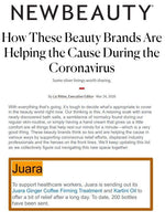 NEW BEAUTY : How These Beauty Brands Are Helping the Cause During the Coronavirus