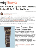 MBG LIFESTYLE: Best Natural & Organic Hand Creams & Lotion: 15 To Try For Dry Hands
