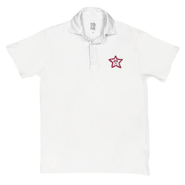 2020! Star Polo White