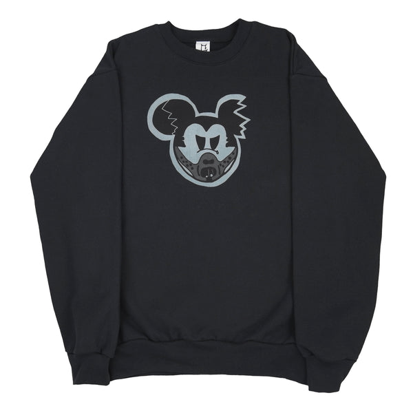 RESTOCK!  Silent Mouse Cotton Track Suit Black