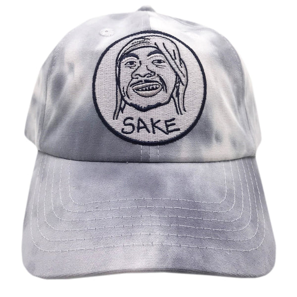 Pirate Dad Cap Tie Dye Light Blue