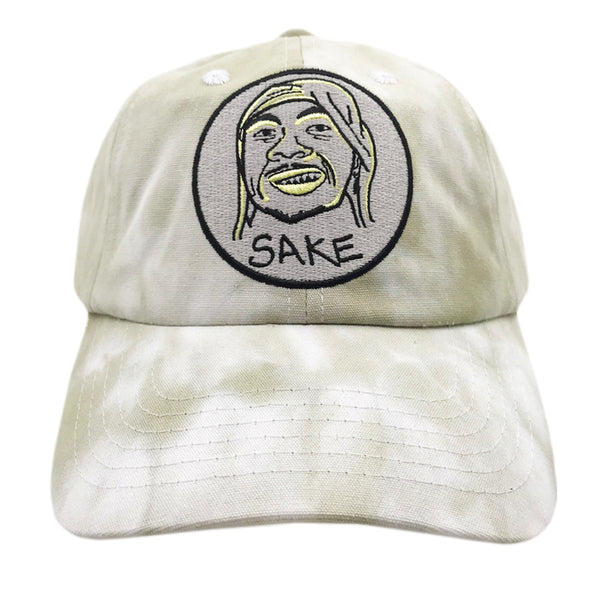 Pirate Dad Cap Tie Dye Olive