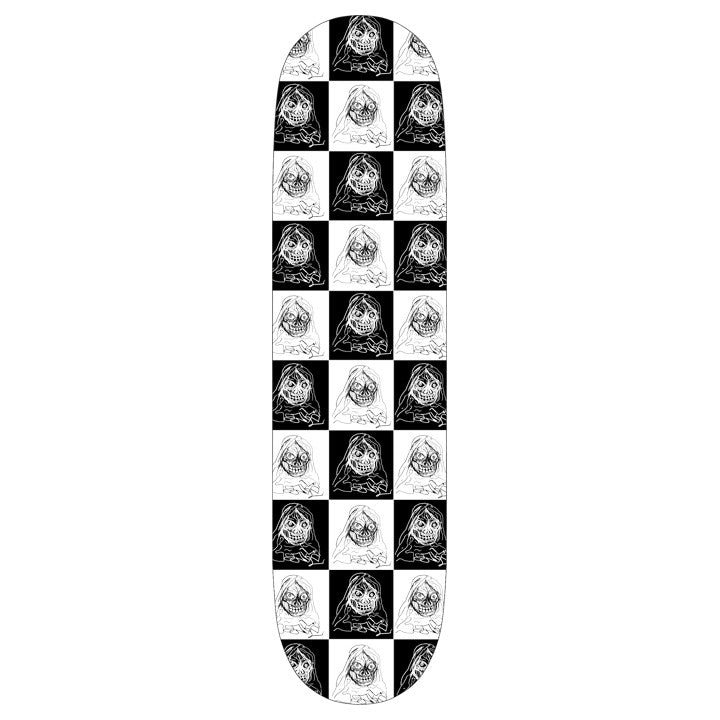 RESTOCK! Checker Skateboard Deck 8.25