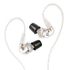 Audiofly AF1120 Universal In-Ear Monitors - Clear, Audiofly - HeadfiAudio