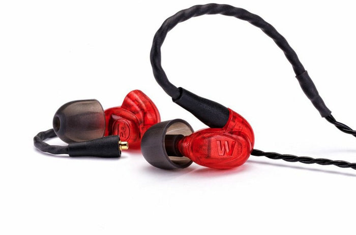 Westone UM Pro 10 1-Driver Inner-Ear Monitors (Red Version), Westone - HeadfiAudio
