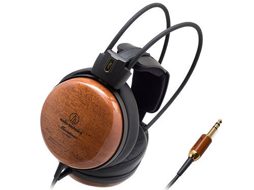 Audio Technica ATH-W1000Z Audiophile Closed-back Dynamic Wooden Headphones, Audio Technica - HeadfiAudio