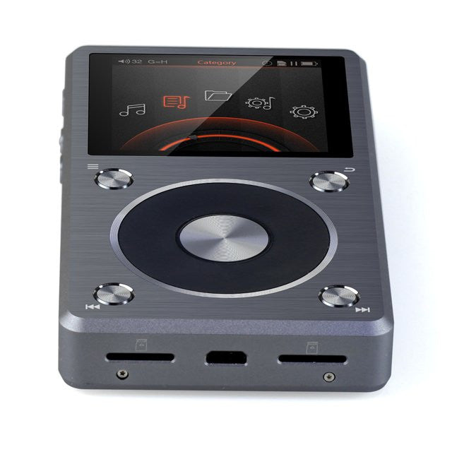 Fiio X5II DSD 2nd Generation HD Music Player with DAC and Amplifier (External Support 256GB), Fiio - HeadfiAudio