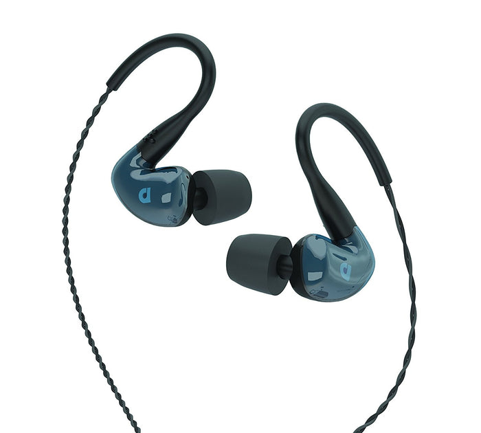 Audiofly AF180 Universal In-Ear Monitors - Stone Blue/ Clear, Audiofly - HeadfiAudio
