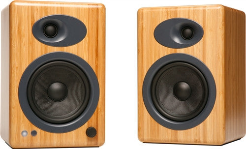 Audioengine A5+ Powered Speakers Bamboo, Audioengine - HeadfiAudio