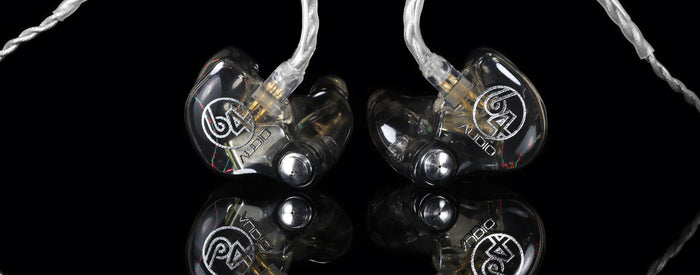 64 Audio A1 Custom made Inner-Ear Monitors, 64 Audio - HeadfiAudio