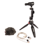 SHURE SHURE MV88+ SE215 Portable Videography Kit, SHURE - HeadfiAudio