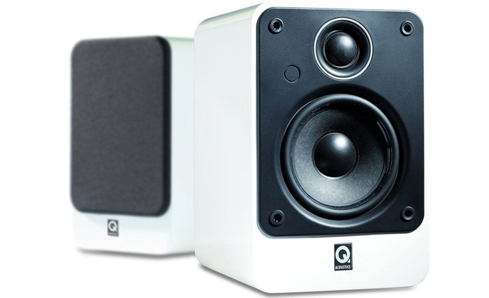 Q Acoustics Concept 20 Bookshelf Speakers (A pair), Q Acoustics - HeadfiAudio